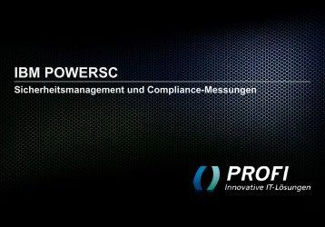 IBM POWERSC - PROFI Engineering Systems AG