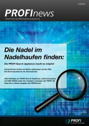 PROFInews Ausgabe 2-2013 als PDF - PROFI Engineering Systems ...