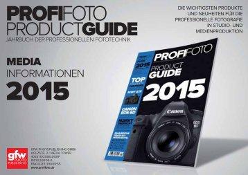Download Mediadaten PROFIFOTO ProductGuide 2015
