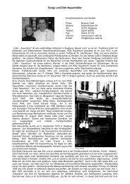 Sonja und Dirk Neuenhöfer, Siegburg - Profile Regierungsbezirk Köln