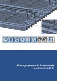 Montagehilfe Trapezschiene - Schrauben / Solarmontage