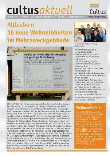 cultusaktuell Cultus - Cultus ggmbh Dresden