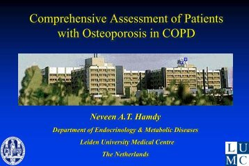 Comprehensive Assessment of Patients with ... - Progetto LIBRA