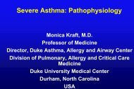 Altered Steroid Responsiveness in Severe Asthma - Progetto LIBRA