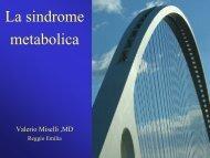 La sindrome metabolica - Progetto LIBRA