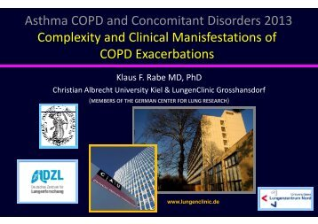 Asthma COPD and Concomitant Disorders 2013 ... - Progetto LIBRA
