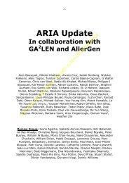 ARIA Update - Progetto LIBRA