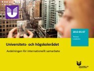 Presentation 2 workshop 5 (pdf) - Internationella programkontoret för ...
