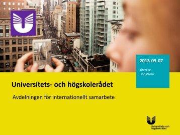 Presentation 2 workshop 5 (pdf) - Internationella programkontoret för ...