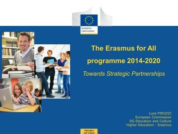 The Erasmus for All programme 2014-2020