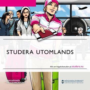 Studera utomlands (pdf) - Internationella programkontoret för ...