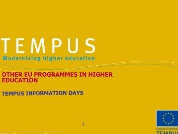 Programmes - Internationella programkontoret