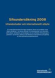 Utlandsstudier och internationellt utbyte - sammanfattande rapport