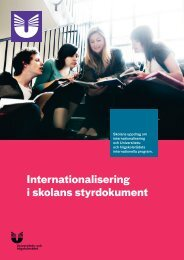 Internationalisering i skolans styrdokument (pdf) - Internationella ...