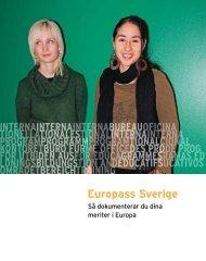 Europass Sverige (pdf) - Internationella programkontoret för ...
