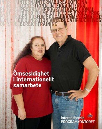 Ömsesidighet i internationellt samarbete (pdf) - Internationella ...