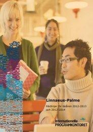 Riktlinjer för Linnaeus-Palme (pdf) - Internationella programkontoret ...