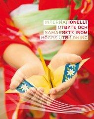 Broschyr: Internationellt utbyte och samarbete inom högre utbildning