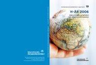 Högskoleenhetens årsredovisning 2006 (pdf) - Internationella ...
