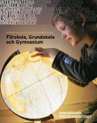 Förskola, Grundskola och Gymnasium - Internationella ...