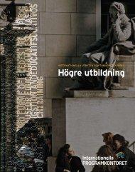 Högre utbildning - Internationella programkontoret för ...