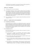 GRANT AGREEMENT - GENERAL CONDITIONS PART A: LEGAL ... - Page 4