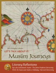 Literary Reflections - Bridging Cultures Bookshelf: Muslim Journeys ...