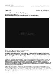 english - PROGRAM | initiative for art + architecture collaborations