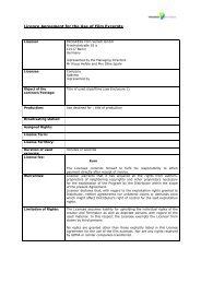 Standard licensing contract (PDF 52 KB) - PROGRESS Film-Verleih