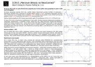 "3/2013 ""Marcowe debiuty na NewConnect"" - Progress Holding Sp. z ..."