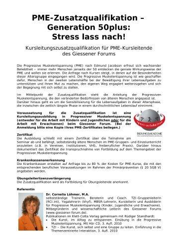 PME: Progressive Muskelen