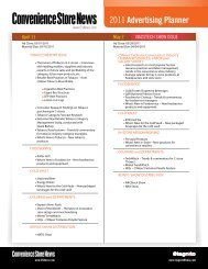 the 2011 CSNews Editorial Planning Calendar - Progressive Grocer