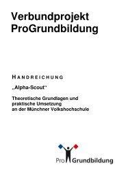 Alpha-Scout-Schulung - ProGrundbildung
