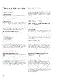 AnhAng zur jAhresrechnung - Pro Helvetia