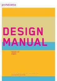 Design Manual (PDF) - Pro Helvetia
