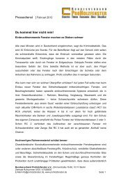 PDF zum Download - Bundesverband ProHolzfenster eV