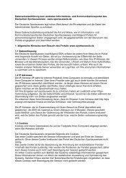 Datenschutzerklärung - Der Deutsche Olympische Sportbund