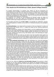 Aspekte der Milchviehhaltung in Ghetar, Apuseni ... - Proiect Apuseni