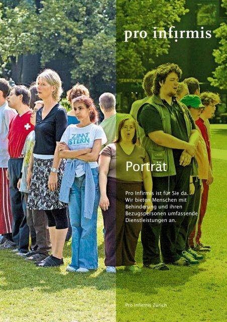 Porträt Zürich - pdf, 291K - Pro Infirmis