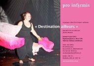 « Destination ailleurs » - Pro Infirmis