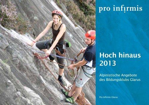 Alpinistische Angebote des Bildungsklubs Glarus - pdf ... - Pro Infirmis