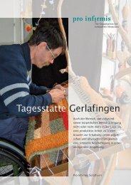 Tagesstätte Gerlafingen - Pro Infirmis