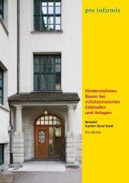 Hindernisfreies Bauen bei schützenswerten Gebäuden ... - Pro Infirmis