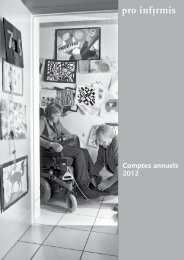 Pro Infirmis Comptes annuels 2012 - pdf, 4.6M