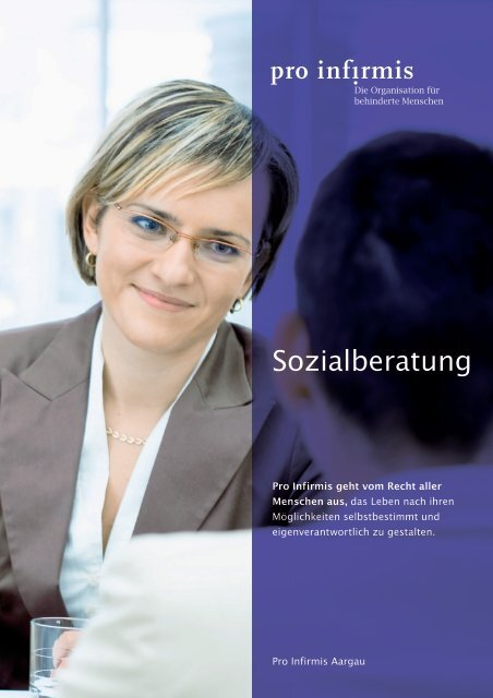 Sozialberatung - Pro Infirmis