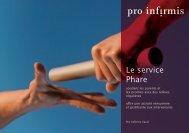 Le service Phare - pdf, 4.4M - Pro Infirmis