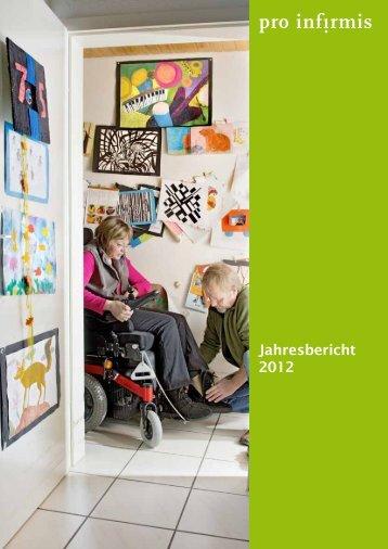 Pro Infirmis Jahresbericht 2012 - pdf, 738K
