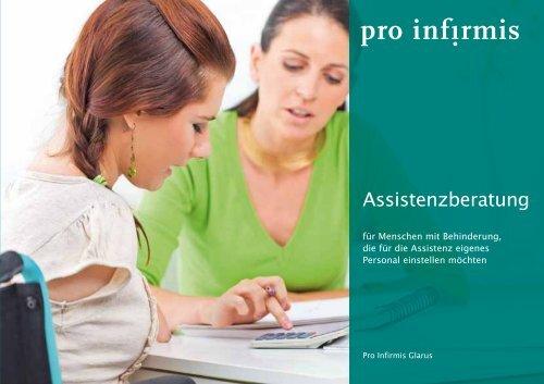 Broschüre Assistenzberatung - pdf, 245K - Pro Infirmis