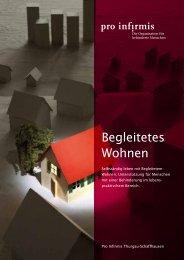 Begleitetes Wohnen - pdf, 161K - Pro Infirmis