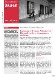 Hindernisfreie Anpassung von Altbauten - pdf, 704K - Pro Infirmis
